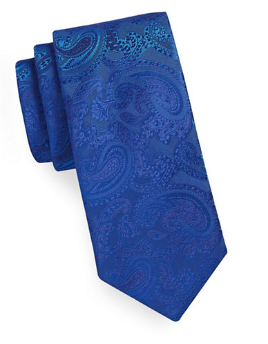 Geoffrey Beene Tonal Paisley Tie-REGATTA-One Size
