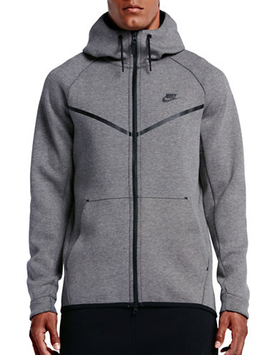 Nike Tech Fleece Windrunner Hoodie-GREY-Large 89407185_GREY_Large
