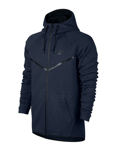 Nike Sportswear Tech Fleece Windrunner Hoodie-BLUE-Small 88655722_BLUE_Small