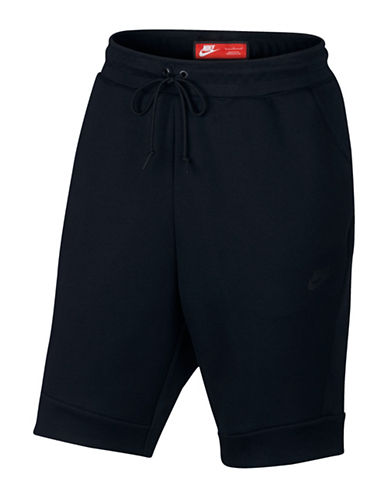 Nike Sportswear Tech Fleece Shorts-BLACK-Small 88798137_BLACK_Small