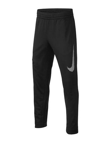 Nike Therma Basketball Pants-BLACK/WHITE-Medium 89655246_BLACK/WHITE_Medium