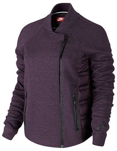 Nike Tech Fleece Aeroloft Motocross Jacket-PURPLE-Large 87989044_PURPLE_Large