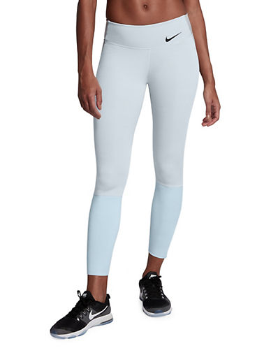 Nike Legendary Tights-GREY-X-Small