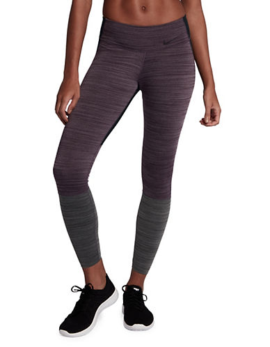 Nike Legendary Tights-PURPLE-Large