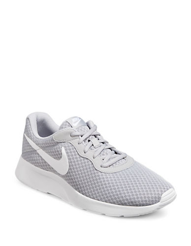 Nike Mens Tanjun Running Shoes-WOLF GREY-9.5