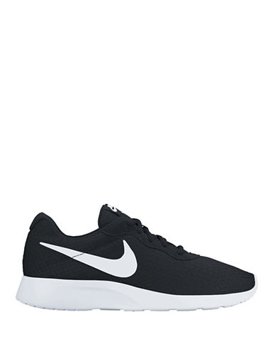 Nike Mens Tanjun Running Shoes-BLACK-12