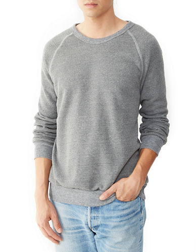 Alternative Champ Eco Fleece Sweatshirt-GREY-Small 87887656_GREY_Small