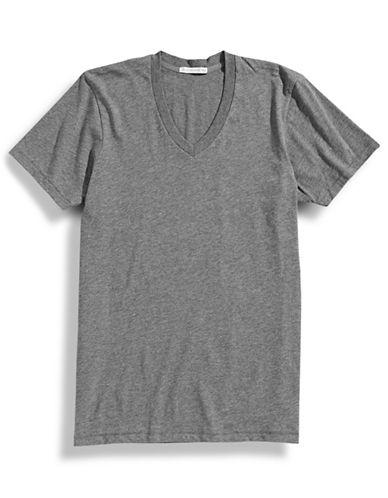 Alternative Organic Cotton V Neck T Shirt-OXFORD-X-Large 87203346_OXFORD_X-Large