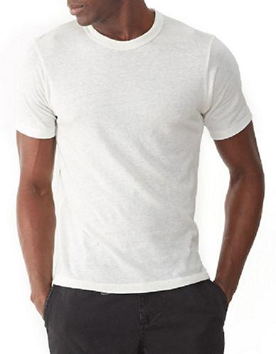 Alternative Heathered Eco-Jersey Crew T-Shirt-IVORY-Small