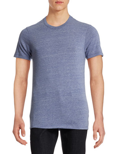Alternative Heathered Eco-Jersey Crew T-Shirt-PACIFIC-Small