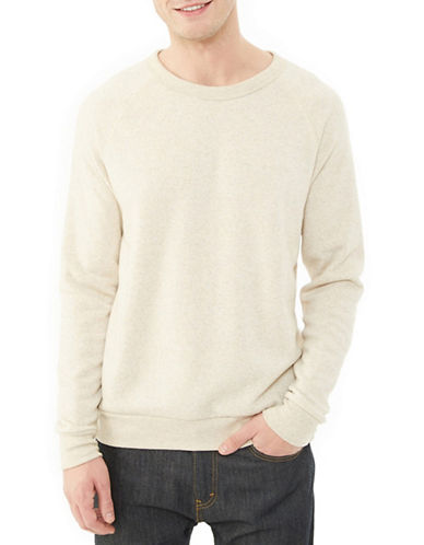 Alternative Champ Eco Fleece Sweatshirt-STONE-Small