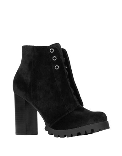 Call It Spring Lace-Up Boots-BLACK VELVET-10