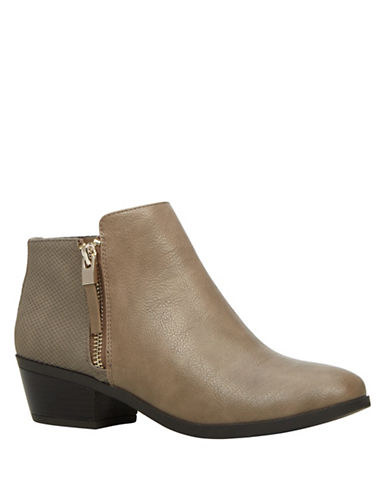 Call It Spring Ankle Booties-BEIGE-7