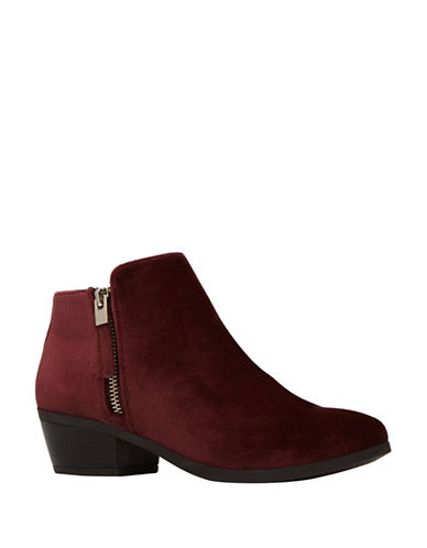 Call It Spring Gunson Zip Booties-DARK PURPLE-8