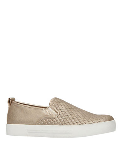 Call It Spring Fiamma Quilted Slip-On Sneakers-CHAMPAGNE-6
