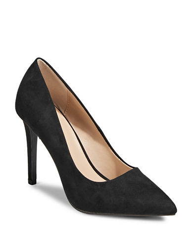Call It Spring Agrirewiel Point Toe Pumps-BLACK-7