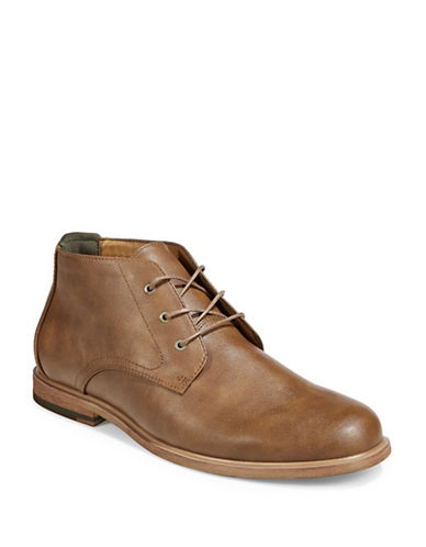 Call It Spring Methew Chukka Boots-COGNAC-9.5