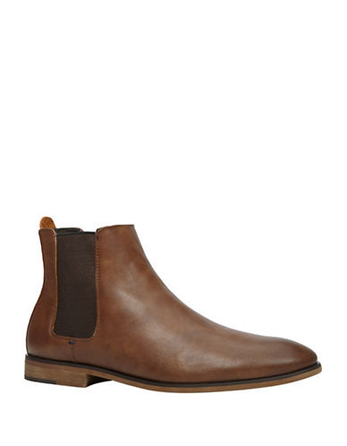 Call It Spring Cadoini Slip-On Chelsea Boots-BROWN-7.5