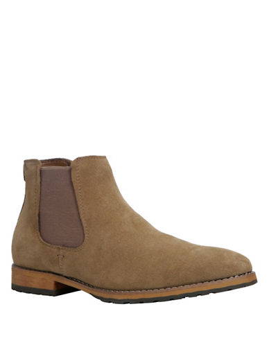 Call It Spring Draun Casual Leather Chelsea Boot-BEIGE-10.5