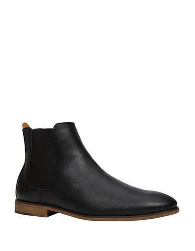 Call It Spring Cadoini Slip-On Chelsea Boots-BLACK-7.5