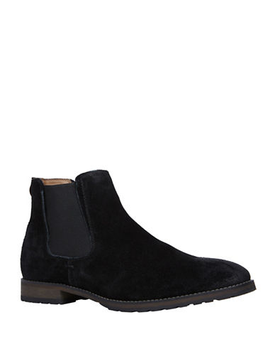 Call It Spring Draun Casual Leather Chelsea Boot-BLACK-7