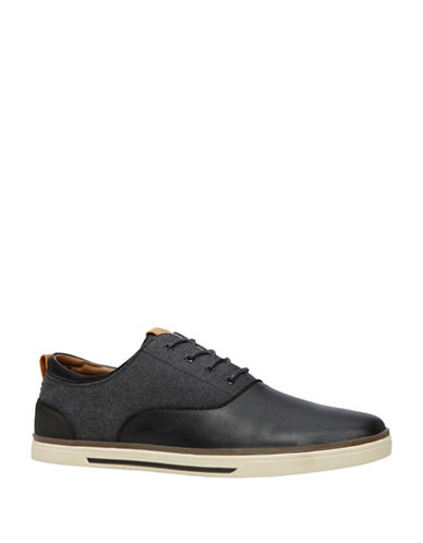 Call It Spring Novyanna Textured Sneakers-BLACK-7.5