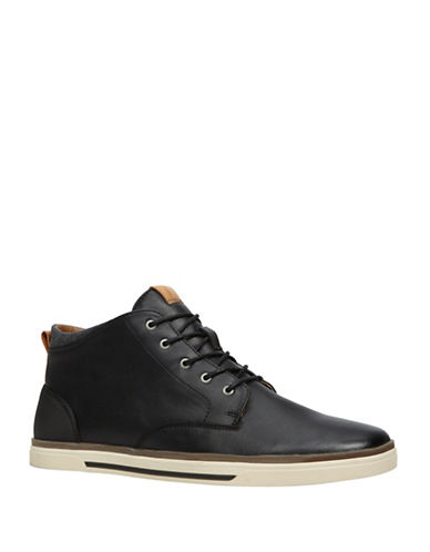 Call It Spring Iberawia Lace-Up Boots-BLACK-9.5