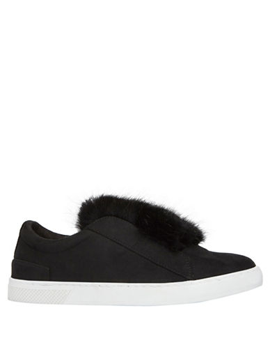 Call It Spring Caridi Slip-On Sneakers-BLACK-9