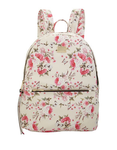 Call It Spring Printed Backpack-WHITE-One Size