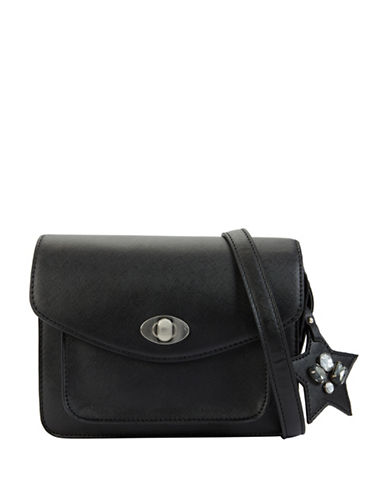Call It Spring Exotic Crossbody Bag-BLACK-One Size