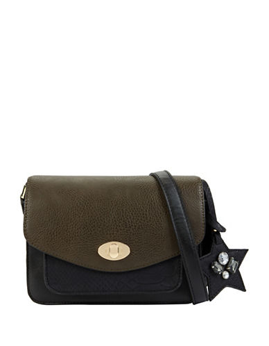 Call It Spring Exotic Crossbody Bag-GREEN-One Size