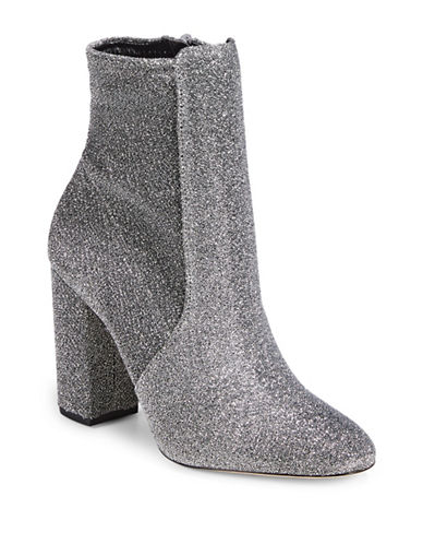 Aldo Ankle Boots-SILVER-6.5
