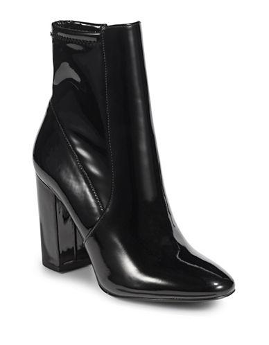 Aldo Ankle Boots-BLACK PATENT-5
