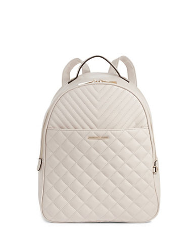 Aldo Quilted Backpack-IVORY-One Size