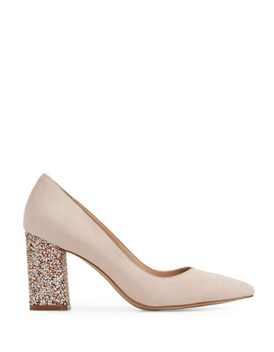 Aldo Cirenna Slip-On Pumps-LIGHT PINK-7.5