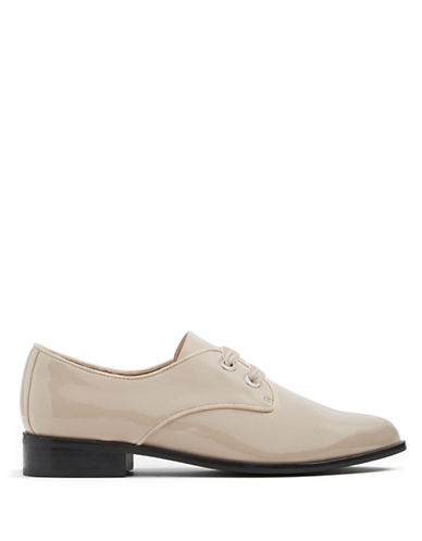 Aldo Gemelli Lace-Up Oxfords-NUDE-5
