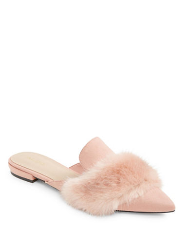 Aldo Dorriety Slip-On Slippers-PINK-7.5
