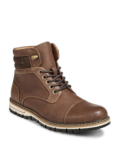 1670 Heneri Ankle Boots-BROWN-10