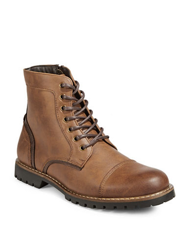 1670 Afalle Lace-Up Boots-BROWN-EU 43.5/US 10.5