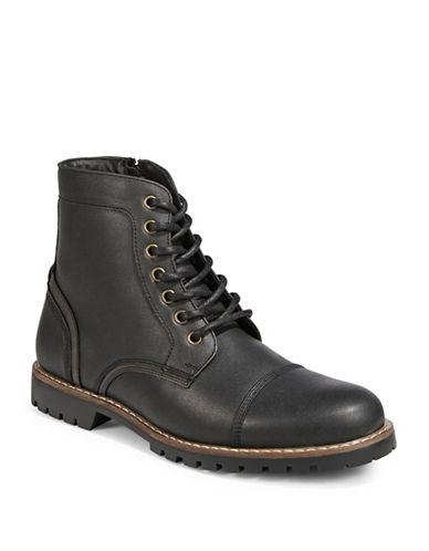 1670 Afalle Lace-Up Boots-BLACK-EU 42.5/US 9.5