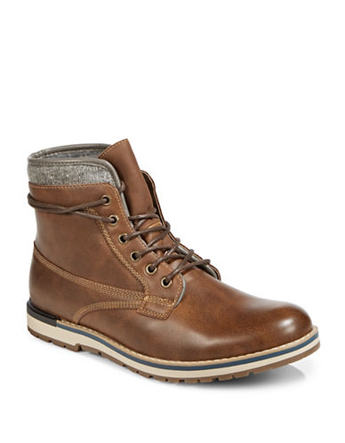 1670 Hilalle Lace-Up Boots-BROWN-9