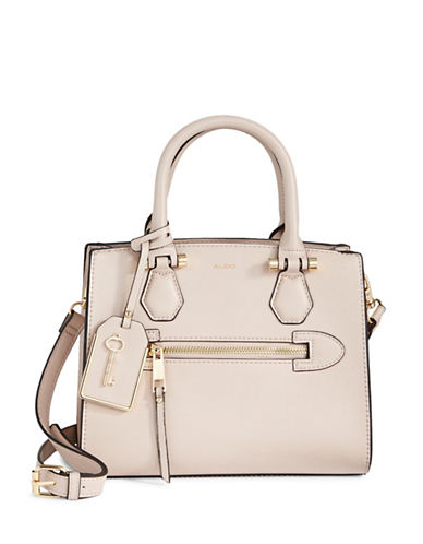 Aldo Zip Tote-BROWN-One Size