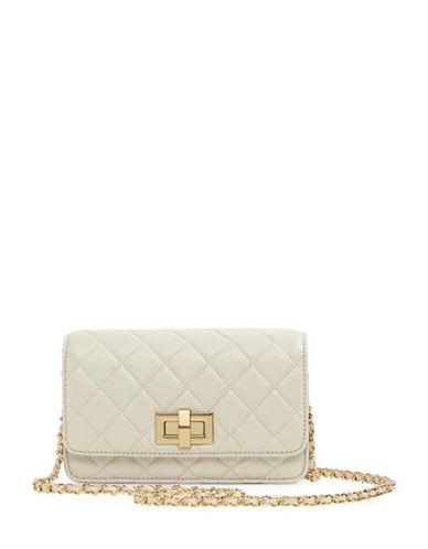 Aldo Pavon Mini Quilted Crossbody Bag-WHITE-One Size