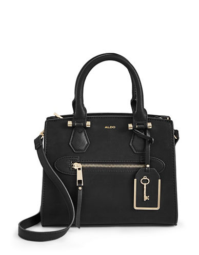 Aldo Zip Tote-BLACK-One Size