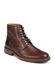 Pegabo Lace Up Leather Derby Shoes