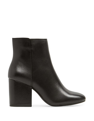 Aldo Masen Leather Booties-BLACK-8