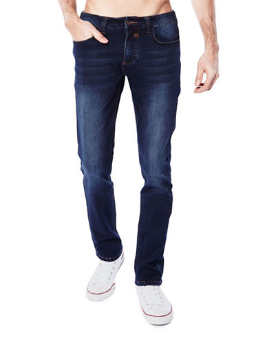 Bauhaus Straight Fit Jeans-BLUE-34X32