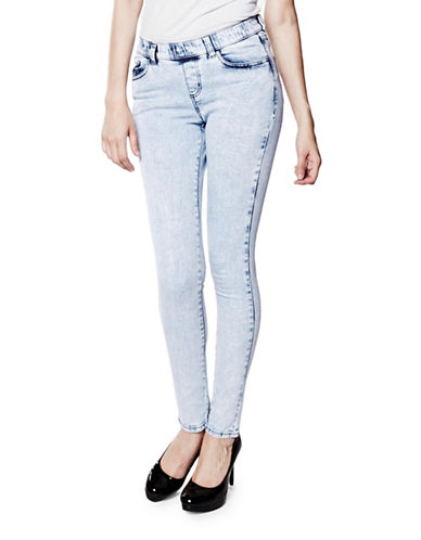 Foxy Jeans Skinny Ankle-Length Jeans-BLUE-31