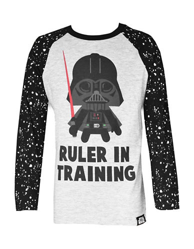 Star Wars Star Wars Long-Sleeve Tee-GREY/BLACK-6 89647186_GREY/BLACK_6