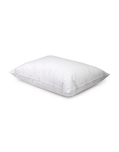 Serta 240 Thread-Count White Duck Down Pillow-WHITE-King